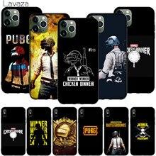 funny PUBG logo Soft Silicone Cover for iPhone 12 Mini 11 Pro XR X XS Max 7 8 6 6S Plus 5 5S SE 2020