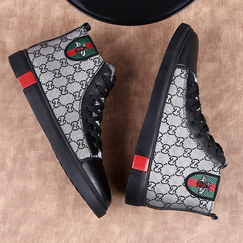 جديد حذاء رجالي كاجوال موضة تريند ماركة أحذية فاخرة عالية الجودة مريحة حذاء مسطح الأعمال مكتب حفلة أحذية غير رسمية