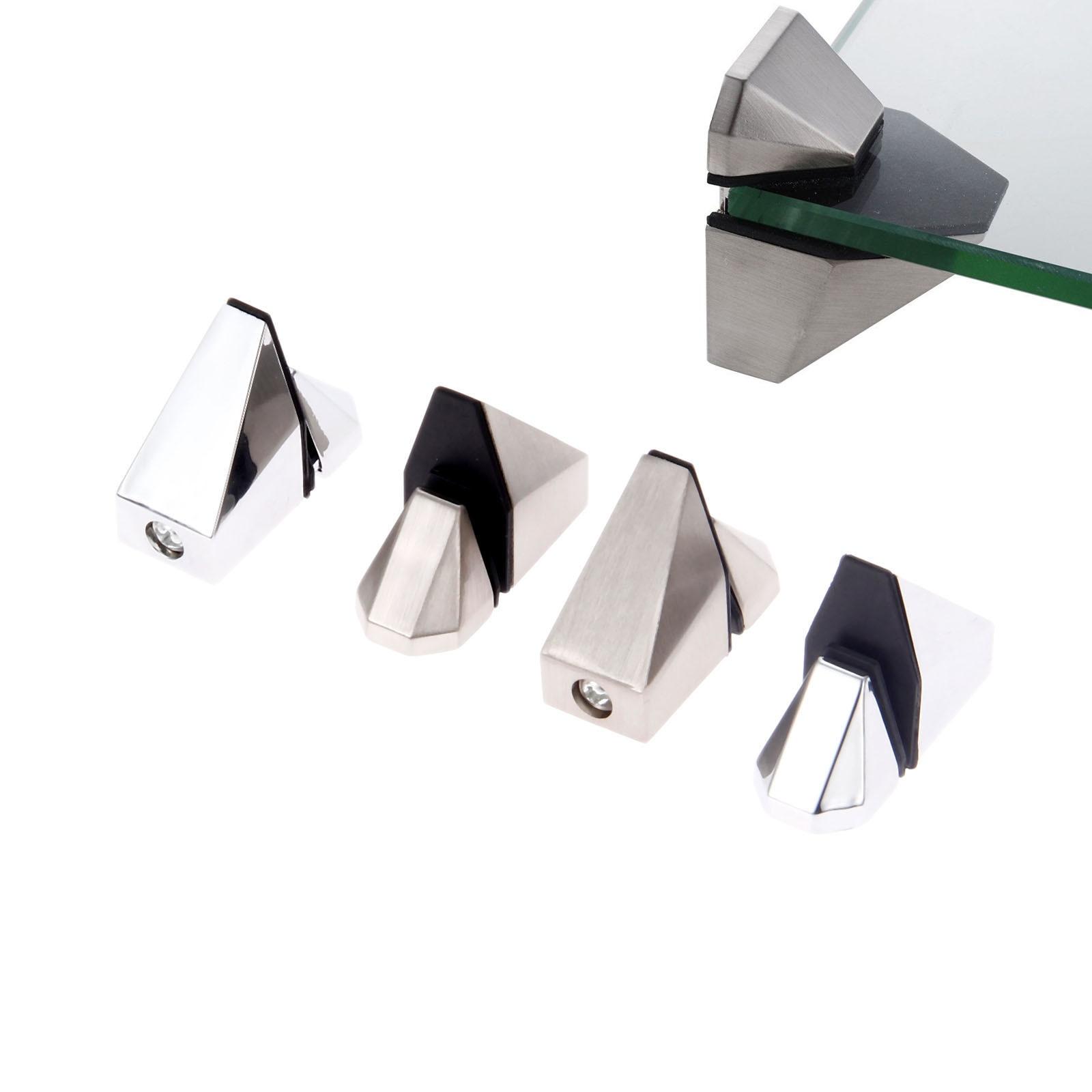 2 шт. стеклянный зажим металлический Регулируемый Деревянный/стеклянный