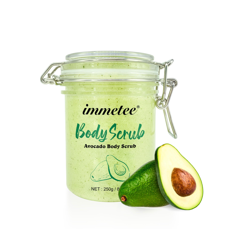 Avocado Body Scrub Exfoliating Scrub Deep Cleansing Pore Acne Treatment Exfoliating Gel Brightening Avocado Whitening Body Scrub недорого