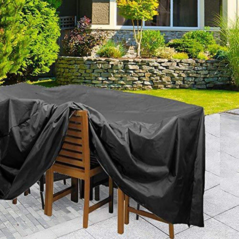 Mantel de mesa rectangular con cubierta de lluvia para muebles mantel impermeable mantel cubierta de polvo toalla para fiesta Picnic patio jardín exteriores