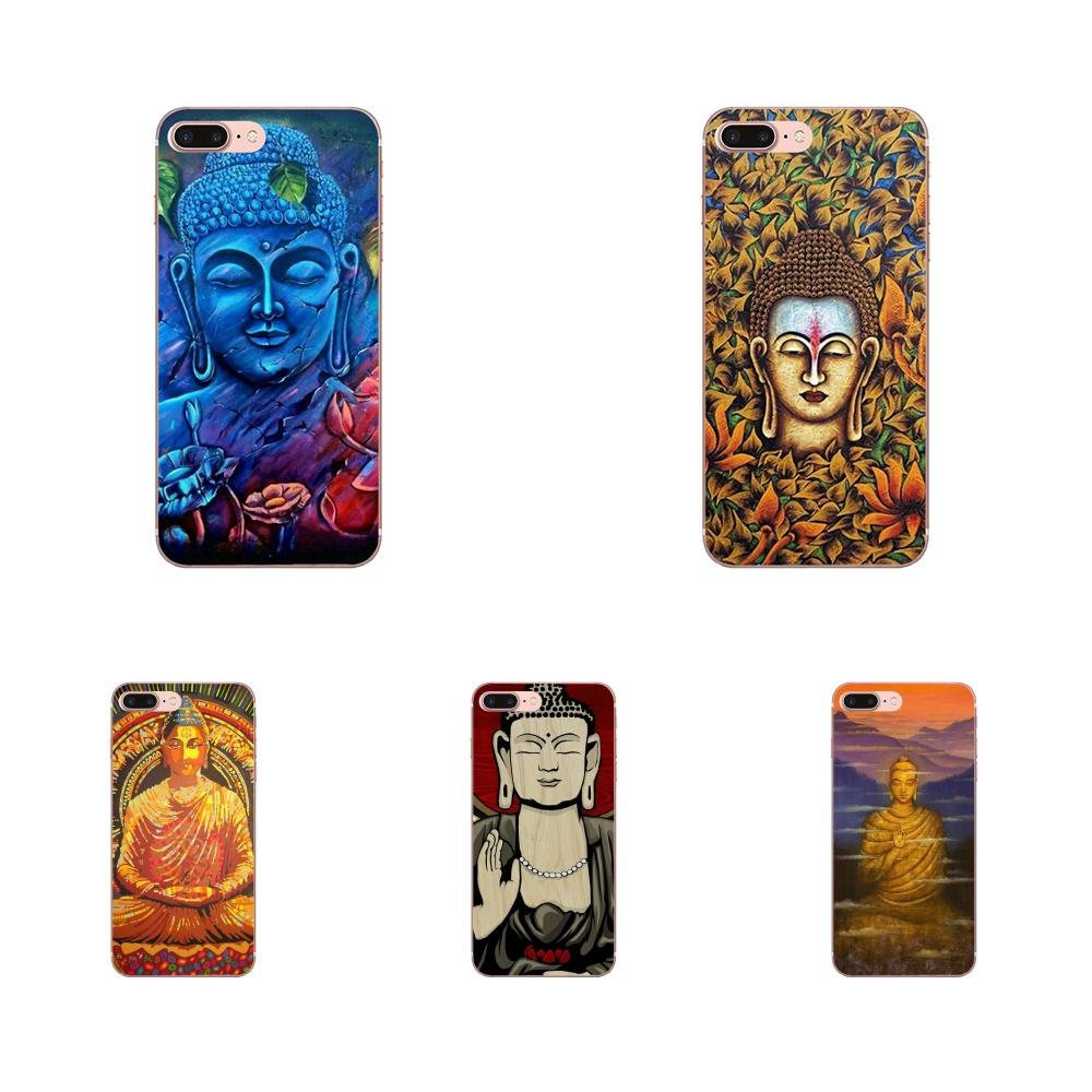 For Xiaomi Redmi Mi 4 7A 9T K20 CC9 CC9e Note 7 8 9 Y3 SE Pro Prime Go Play Silicone Case Cover Gautama Buddha Back