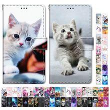 Boys Girls Kids Lovely Phone Bags For Case Huawei P20 Lite 2019 P20 Plus 2018 Butterfly Dog Cat Kitt