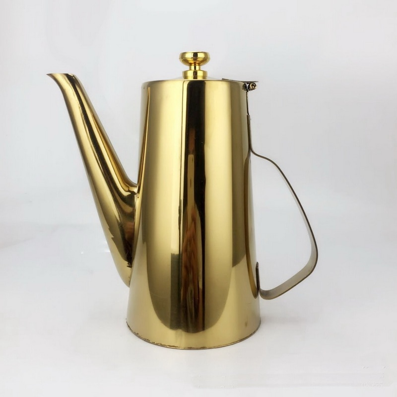 stainless steel long mouth teapot fruit Juice pot cold water kettles Water Bottles 1500ML