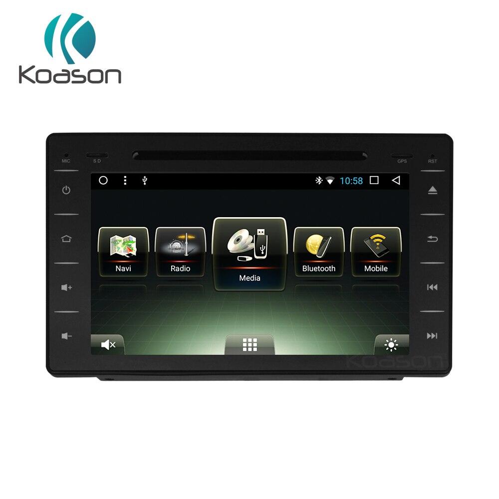 Sistema de navegación GPS con audio y vídeo estéreo para coche con pantalla táctil Android para Toyota Hilux multimedia dvd gps navegación