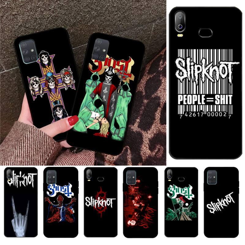 Slipknot Rock Foto Personalizado Caso de Telefone Macio Para Samsung Galaxy A01 A11 A31 A81 A10 A20 A30 A40 A50 A70 A80 A71 A91 A51