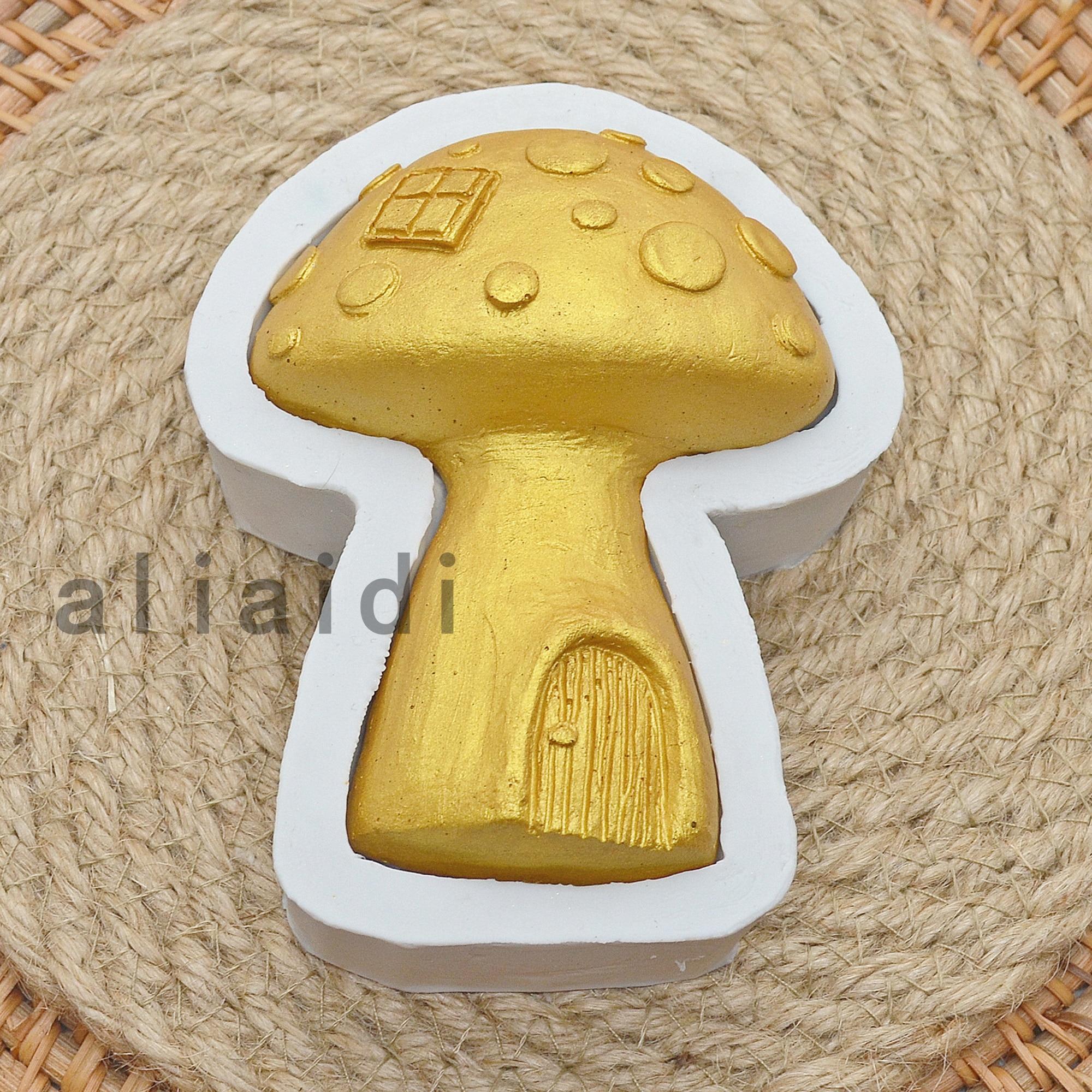 Новые силиконовые формы для торта в виде грибов, формы для помадки, форма для шоколада, инструменты для украшения торта, Аксессуары для выпе...