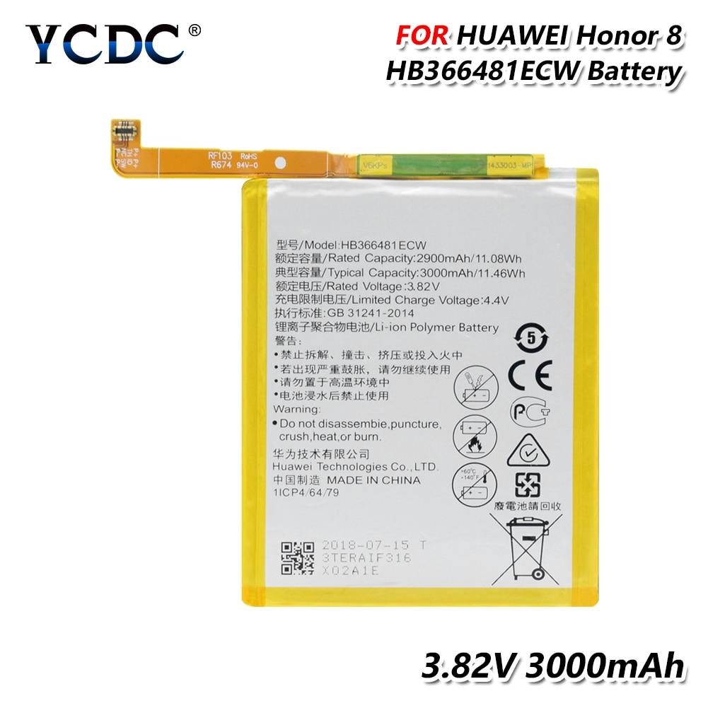 Литиевый аккумулятор HB366481ECW для Huawei P9 P9 Lite G9 Lite Honor 5C Honor 8 Li-Po, запасная батарея для телефона