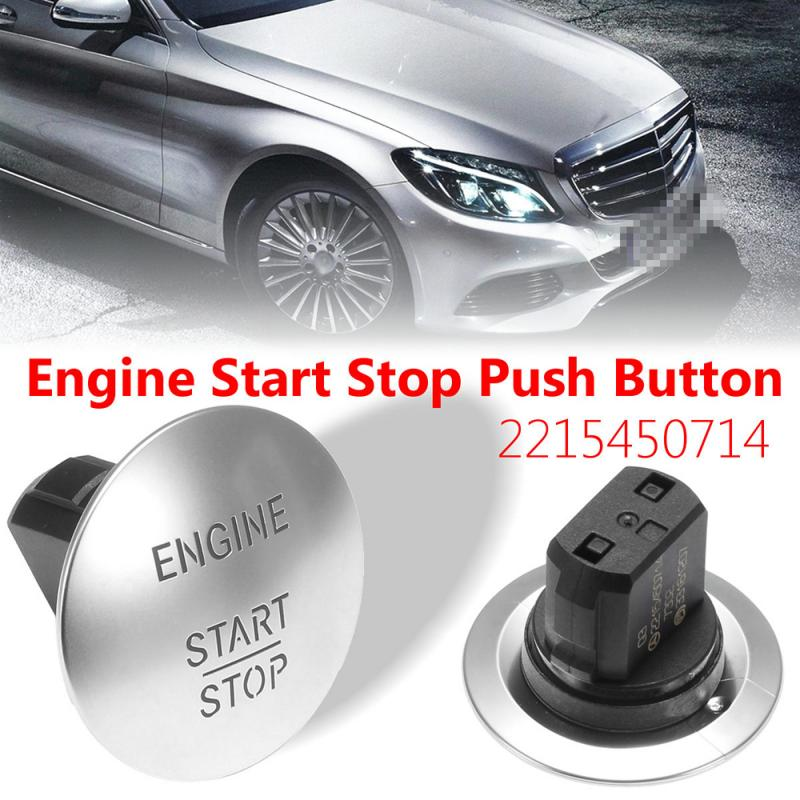 Interior Parts Switches For Mercedes-Benz Push To Start Button Keyless Go Engine Start Stop