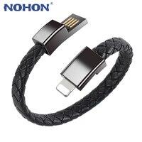 NOHON портативный браслет кабель для передачи данных и быстрой зарядки в плоской спиралевидной форме Micro кабель/Type C USB кабель для передачи дан...