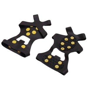 Outdoor Sports 10 Stud Teeth Mountaineering Ice Gripper Shoes Covers Crampons Covers Winter Climbing Safety Non-Slip Crampons