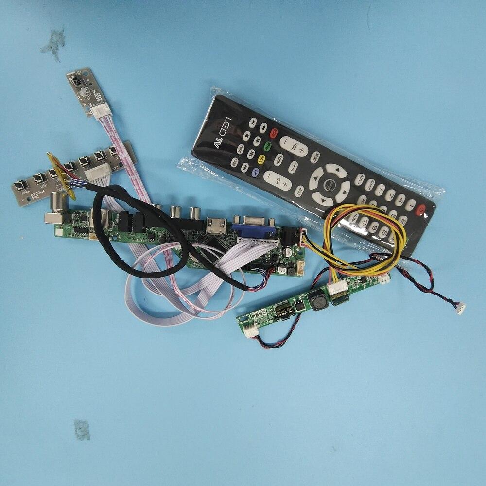 TV56 LCD LED AV USB HDMI-متوافق VGA تحكم مجلس عدة كابل ل 30pin M190CGE-L20/M190CGE-L23 1440X900 لوحة شاشة التلفزيون