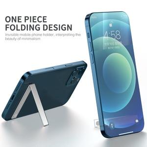 Mini L Shaped Phone Holder  Foldable Aluminium Alloy Phone/Ipad Stand Bracket  For Phone/Ipad Holder Bracket Durable Stable