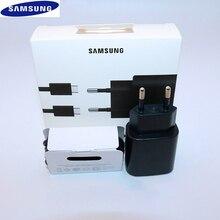 Оригинальное быстрое зарядное устройство Samsung S20 Ultra Note 10 20, адаптер для быстрой зарядки с USB C на Type C, кабель для Galaxy S20 Plus/S20 + A80, 25 Вт