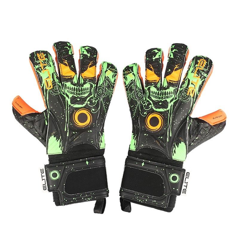 Luxury Latex Goalkeeper Gloves Adult Professional Soccer Goalkeeper Gloves Non-Slip Goalie Glove Football Training Equipment Man