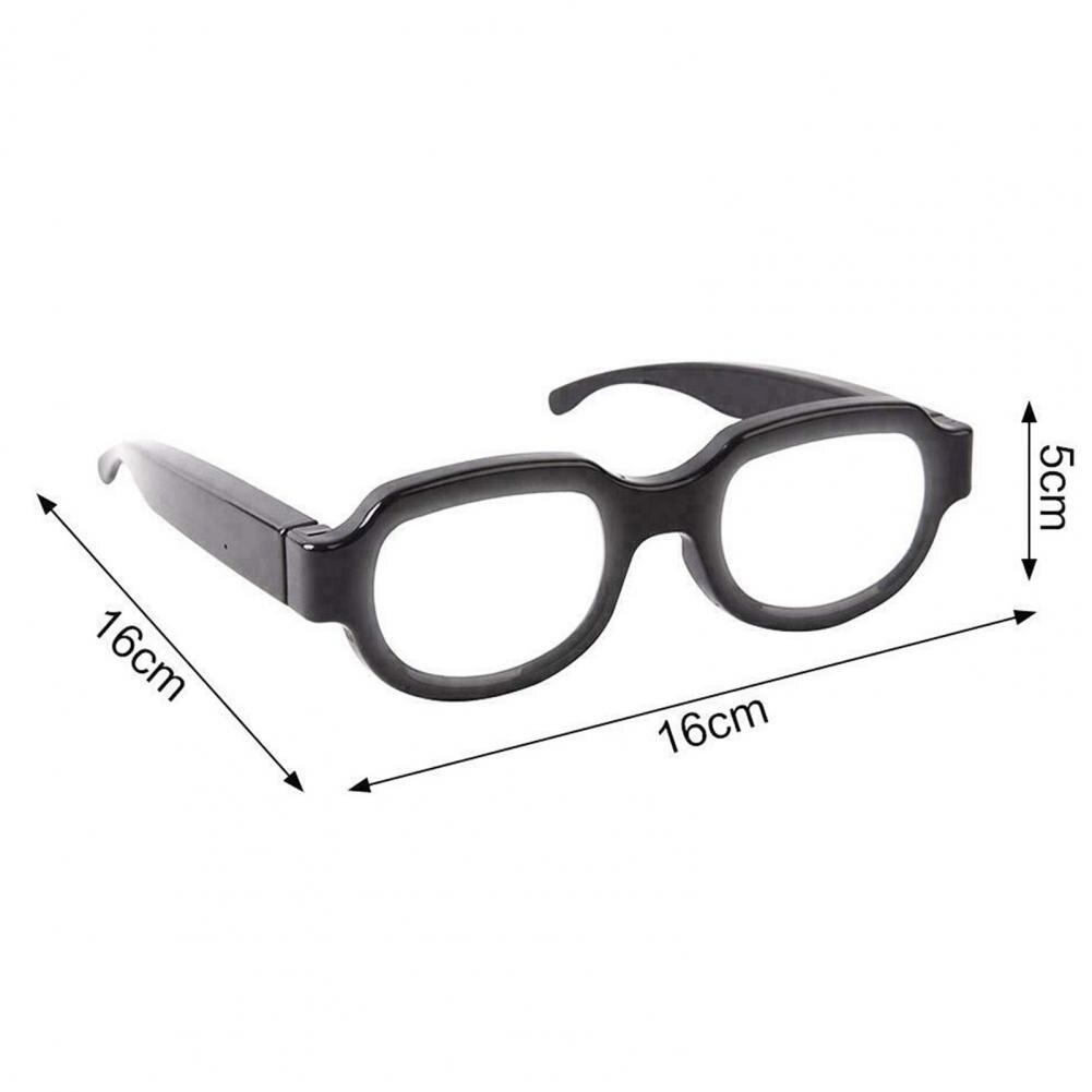 LED Luminous Glasses Light Up Visor Eyeglasses For Halloween Christmas Parties Anime Spoof GlassesEyewear Prop for Party enlarge