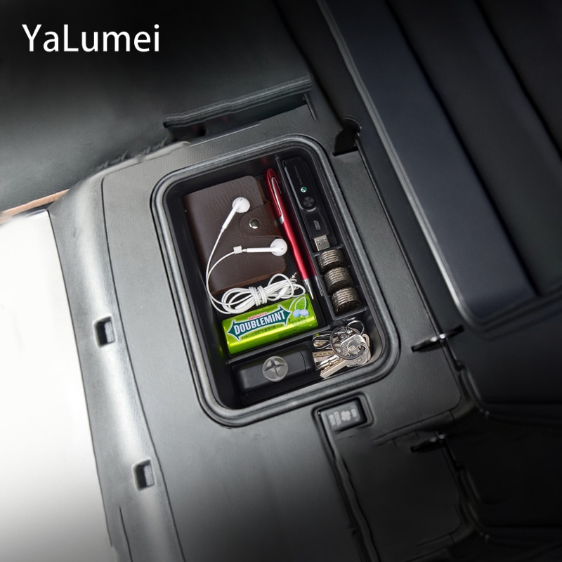 Car Central Armrest Box Car Center Console Arm Rest Box Glove Box For Nissan Patrol Y62 2013-2016 2017 2018 Interior Accessories