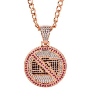 3pcs Hot Full Rhinestone NO PHOTO Pendant Fashion Hip Hop Iced Out Pendant Necklace Party Jewelry For Men Women Gift