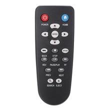 433mhz czarny wymiana ABS pilot Mini przenośny dla WD TV Live Plus odtwarzacz multimedialny WDBABZ0010BBK WDBACA0010BBK