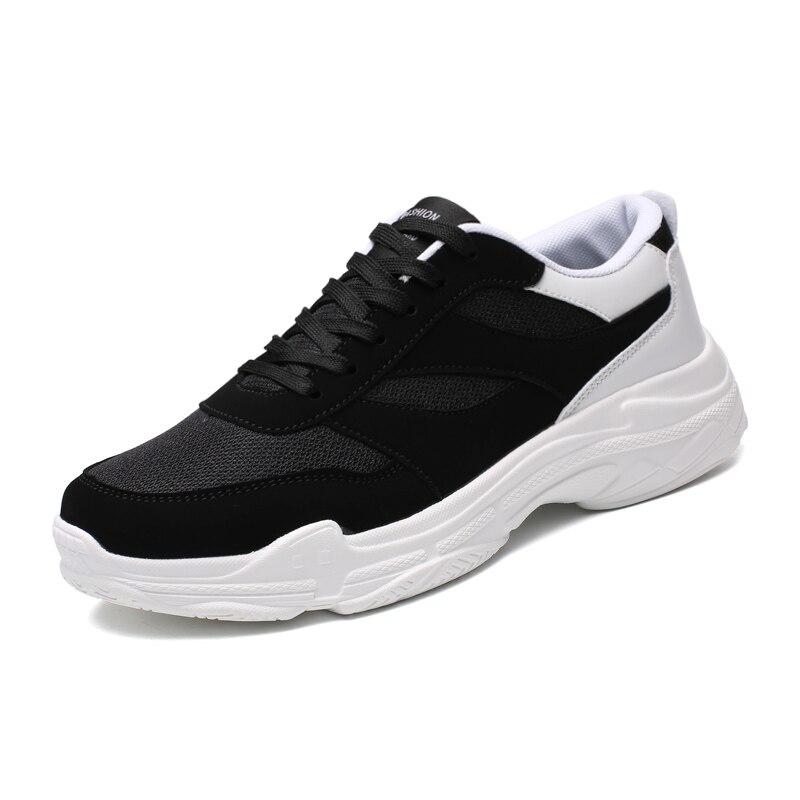 Zapatos para hombre, zapatillas de deporte transpirables de malla suave, calzado para hombre, zapatillas casuales de moda para adultos, zapatillas de deporte para mujer de talla grande 47