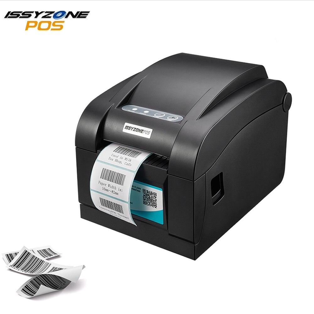 ITPP030 80mm 3 pulgadas impresora térmica de etiquetas con código de barras serie + USB + puerto Ethernet compatible ESC/POS