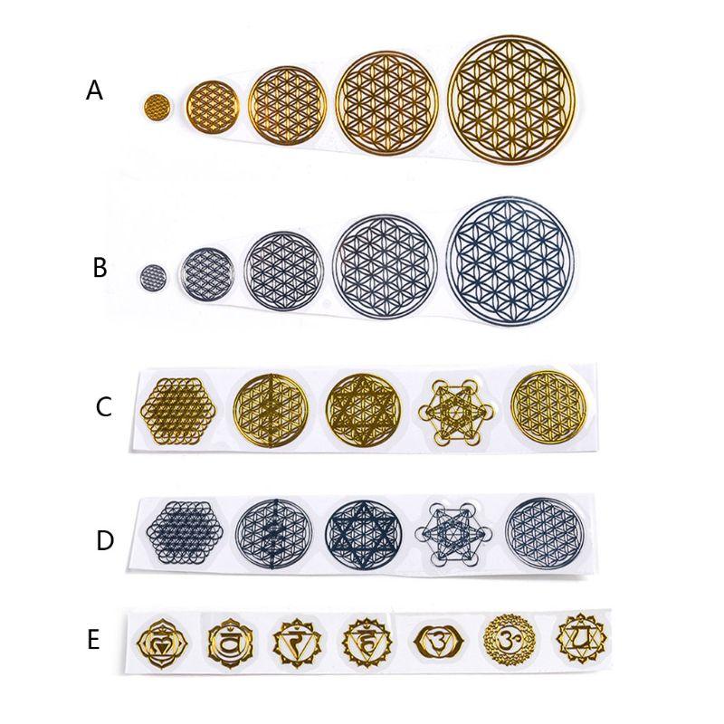 7 chakra cobre torre de energia orgonite adesivos diy pirâmide resina epóxi material