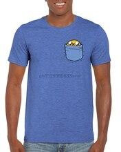 Jake Pocket Adventure Time 영감을받은 T 셔츠 S M L XL 2XL 성인 키즈