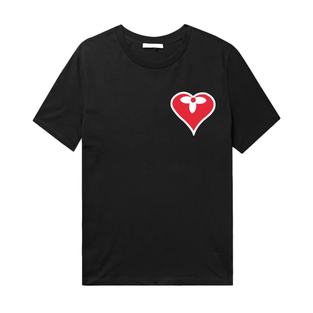 Мужские свободные футболки с круглым вырезом, роскошные брендовые Дизайнерские мужские летние хлопковые футболки оверсайз с коротким рука...