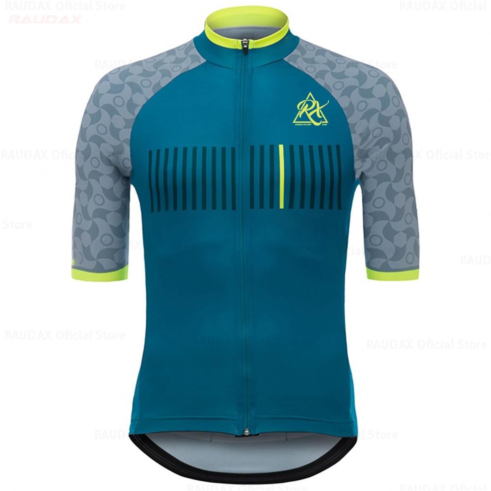 Ropa Ciclismo Hombre 2020 Pro Team Rcc raudax rx Велоспорт Джерси дышащая рубашка с коротким рукавом велосипед Джерси Триатлон Mtb майки