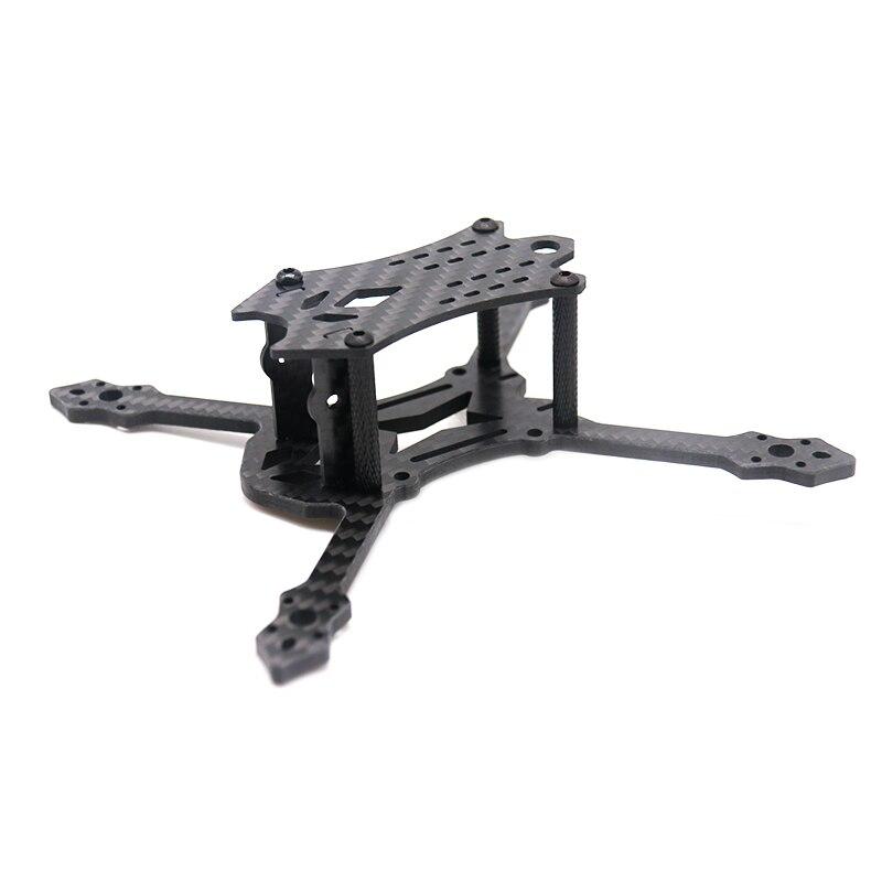 TCMMRC BlackBird 140 140mm Wheelbase 3 Inch Carbon Fiber Frame Kit for FPV RC Drone