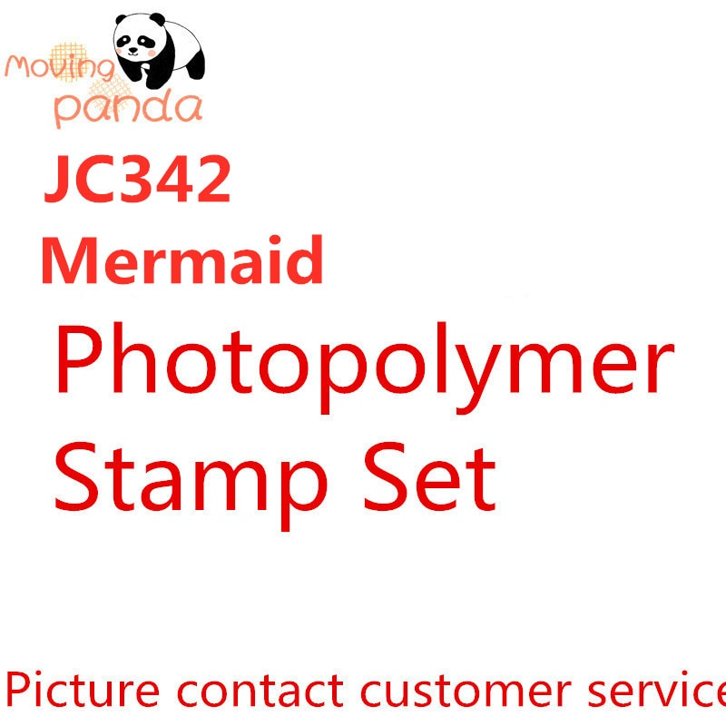 Jc342 mermaid metal corte dados e selos dados para o ofício dados scrapbooking álbum gravando novos dados para a chegada 2019