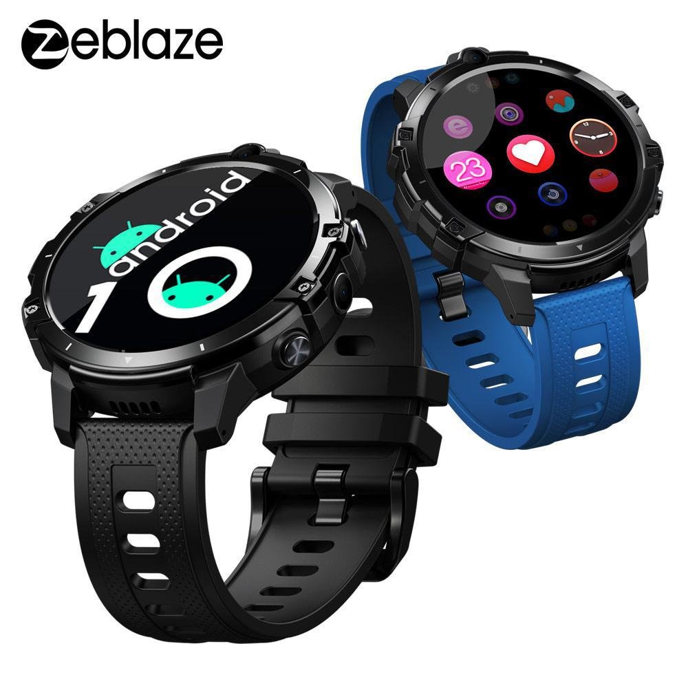 Get Flagship Killer Zeblaze THOR 6 Octa Core 4GB+64GB Android10 OS 4G Global smart watch android smartwatch