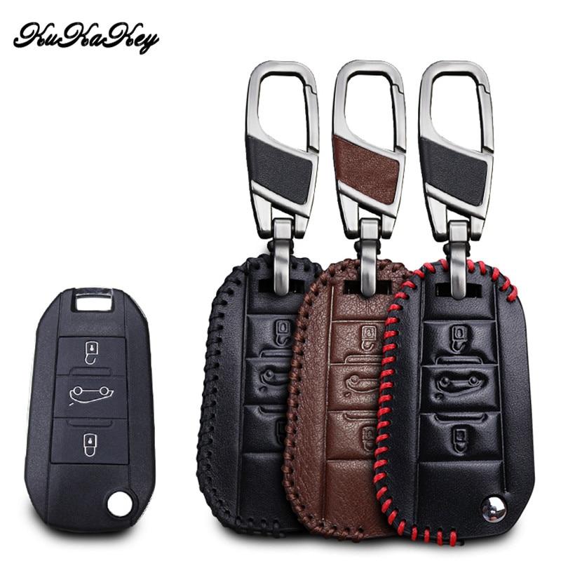 Чехол для ключей автомобиля, чехол для ключей для Citroen C4 Grand Xsara Picasso C5 Elysee C-Quartre C3 XR Berlingo Cactus, кожаные аксессуары для ключей