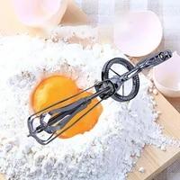 stainless steel eggs blender cream stirring manual egg beater kitchen hand rotary whisk egg mixer diy cake baking gadgets