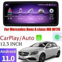 for mercedes benz a class mb w176 ntg car multimedia gps 12 3 1920720 screen audio radio built in carplay navi