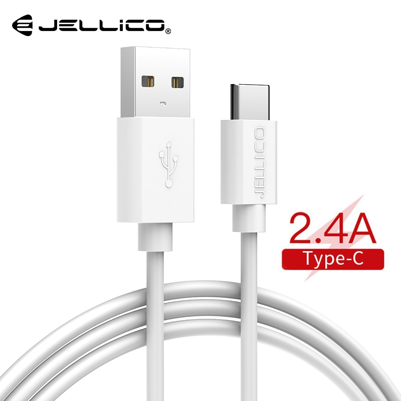 Jellico, Cable USB tipo C para USB-C, Cable de datos tipo c para teléfono móvil, carga rápida, Cable de carga USB para Samsung Galaxy S9 S8 Plus