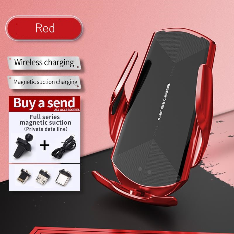 Q2 حامل جبل منتج جديد حامل هاتف السيارة شاحن لاسلكي سيارة الذكية التعريفي الملاحة دعم نظام تحديد المواقع آيفون