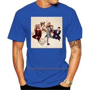 AJR Homens Clássico Banda De Música De Manga Curta Camisa Preta 2021 Leisure Fashion T-shirt 100% Cotton