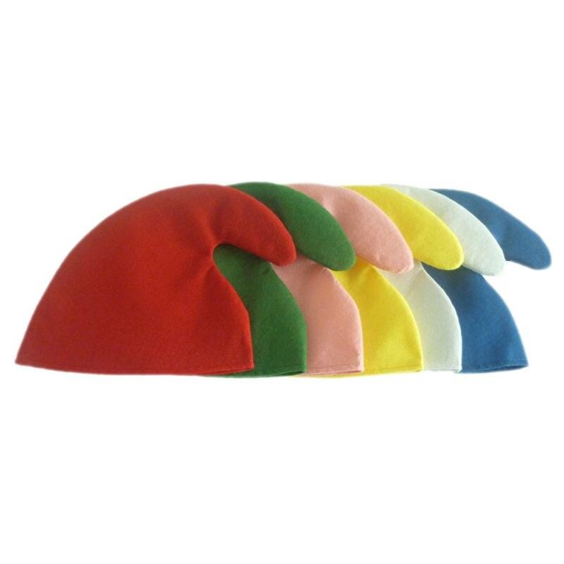 Decoración adorno Navidad sombreros de Papá Noel sombreros niños mujeres hombres niños niñas gorra Siete Enanos fiesta accesorios divertido adulto