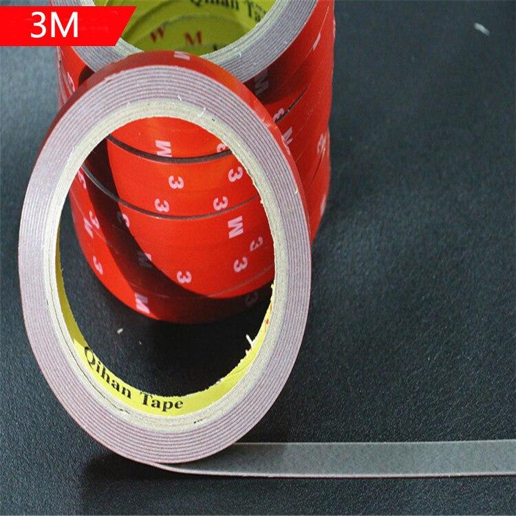 6/10/15/20mm whisky cinta de doble cara cinta adhesiva adhesivo para teléfono panel LCD del coche de la pantalla de reparación de pantalla Accesorios