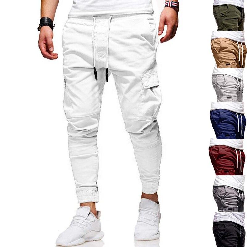 Мужские штаны для бега и фитнеса Daycloth, тренировочные штаны для бодибилдинга, спортивные брюки, новые модные повседневные спортивные штаны д...
