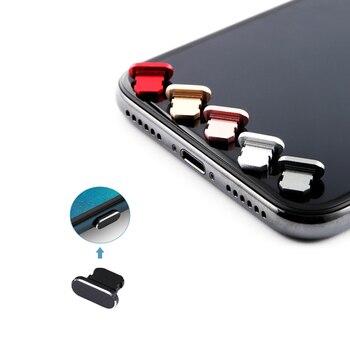 Пылезащитный чехол, алюминиевый сплав, портативное металлическое пылезащитное зарядное устройство, док-станция, пробка, крышка для iPhone 11 X XR Max 8 7 6S Plus