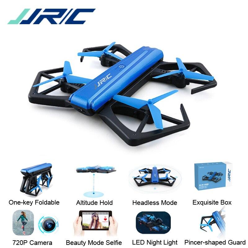 JJRC H43 Selfie Elfie WIFI FPV con cámara 720 HD Modo de retención de altitud sin cabeza brazo plegable RC Quadcopter Drone H37 Mini