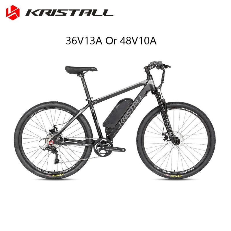 Manufacturer's new E5 electric booster bicycle 27.5-inch 29-inch rear drive 48V lithium bicycle disc brake mountain bike