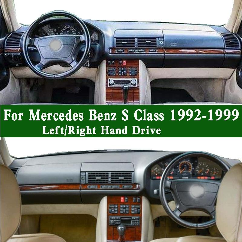 Fits Mercedes Benz S Class 300se S320L W140 S320 500 SL R129 1992-1999 Dashmat Dashboard Cover Pad Dash Mat Carpet Left Right