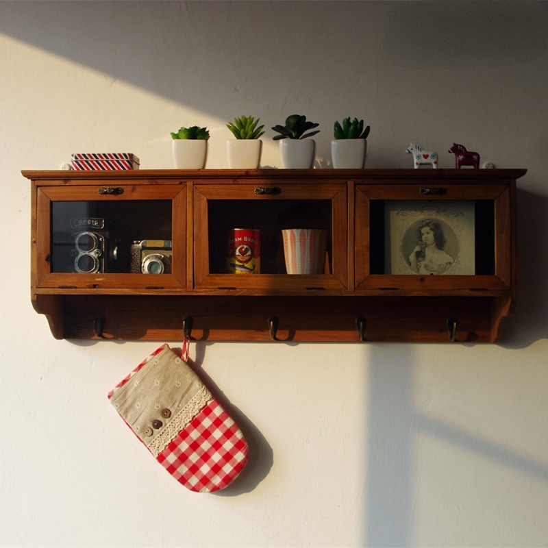 خزانة معلقة خزانة حائط خزانة خشبية حمالة تعليق جدارية الرجعية الجدار الشنق خزائن المطبخ الأثاث