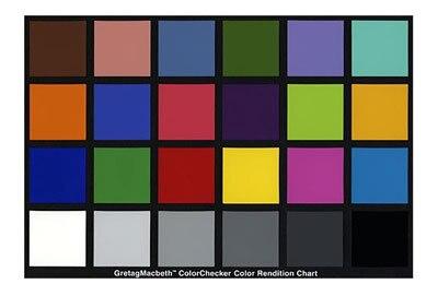 X-Rite ColorChecker (بطاقة اللون القياسية 24)