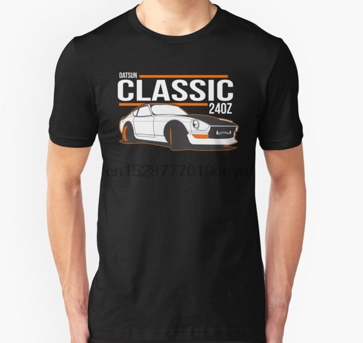Hombres camiseta DATSUN NISSAN 240Z Unisex camiseta impresa camiseta camisetas