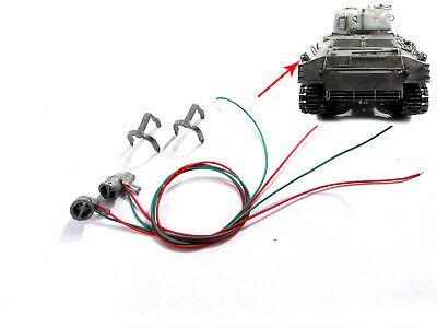 US Stock 1/16 Mato Sherman радиоуправляемая модель танка Metal MT207 задние фонари с защитой TH00915-SMT2
