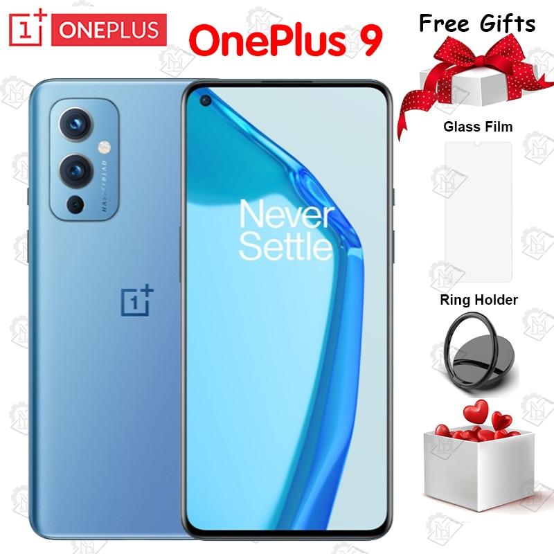Новый оригинальный Oneplus 9 5G мобильный телефон 6,55 Inch 8G Оперативная память 128G Встроенная память Snapdragon 888 Octa Core 50MP 65 Вт, мгновенная зарядка IP68 сма...